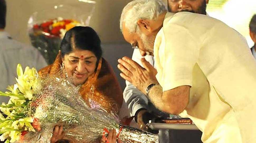 وزیر اعظم نریندر مودی نے لتا منگیشکر کو دی سالگرہ کی مبارکباد