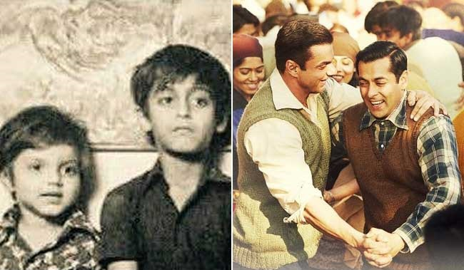 بچپن میں ایسے نظر آتے تھے سلمان خان، بھائی سہیل خان کے ساتھ شیئر کی یہ تصویر