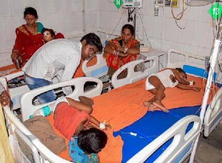 بہار میں چمکی بخار سے مرنے والے بچوں کی تعداد 63 ہوئی