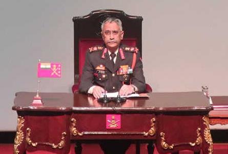 پارلیمنٹ کہے تو پی او کے میں کارروائی کےلئے تیار:جنرل نرونے