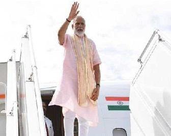 مودی کا طیارہ پاکستان کے اوپر سے نہیں گزرےگا