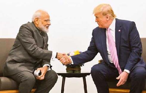 مودی، ٹرمپ کے درمیان دو طرفہ مذاکرات