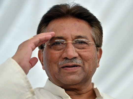 سابق صدر پرویز مشرف کی صحت میں بتدریج بہتری
