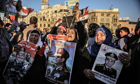 مصر: عبدالفتاح السیسی کا انتخابی مہم کا آغاز