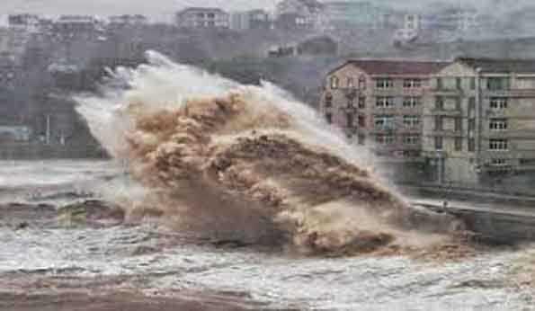 ووہان میں آندھی-طوفان سے چھ افراد کی موت، 218 زخمی