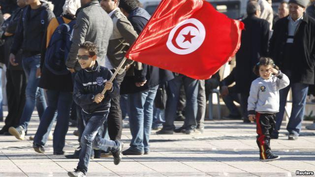 تیونس: انقلاب کی تیسری سالگرہ کے موقع پر احتجاجی مظاہرے