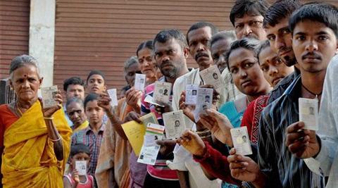 عام انتخابات اہم مرحلہ میں :کل بارہ ریاستوں کے 117حلقوں میں انتخاب