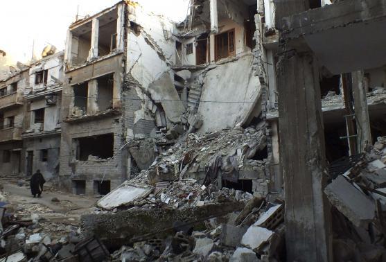 شام کے محصور شہر حمص سے شہریوں کے انخلاء کا آغاز