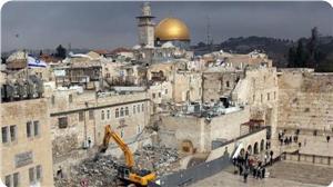 سال 2013ء میں بیت المقدس میں صہیونیوں کے 104 کھدائی آپریشن
