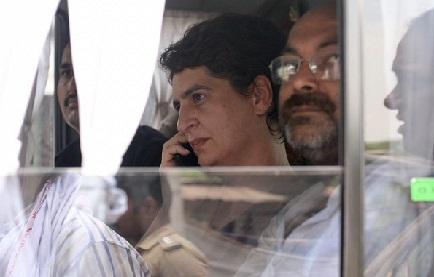 حکم امتناعی کی خلاف ورزی نہیں کروں گی، تین لوگوں کے ساتھ بھی جانے کو تیار: پرینکا