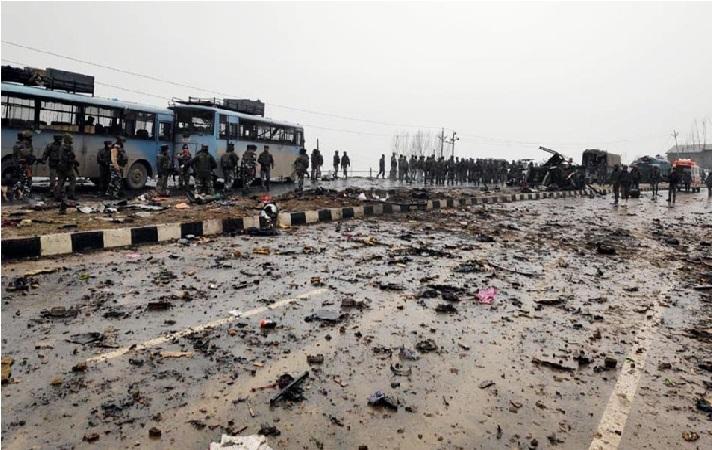 جموں و کشمیر: 2019 کا سب سے بڑا ہلاکت خیز خودکش دھماکہ، 30 سی آر پی ایف جوان شہید