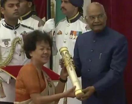 صدر نے 53 شخصیتوں کو پدم ایوارڈ سے سرفراز کیا