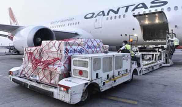 آسٹریلیا نے ہندوستان کو میڈیکل آلات کی دوسری کھیپ بھیجی