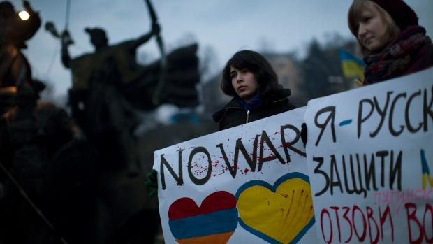 یوکرائن میں روسی مداخلت، امریکا، فرانس اور کینیڈا کے رابطے