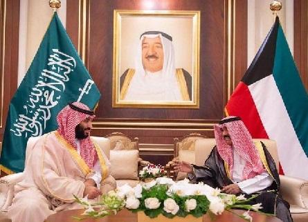 کویت پہنچے سعودی ولی عہد شہزادہ محمد بن سلمان