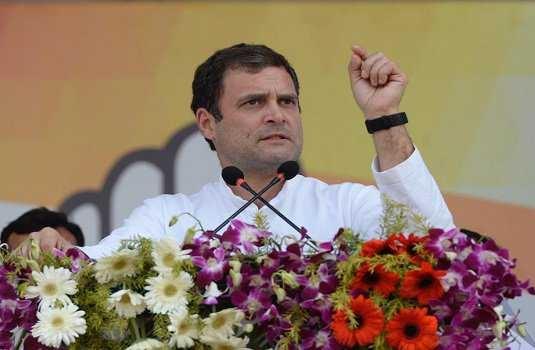 فوجیوں کے خون پر سیاست کررہے ہیں نریندرمودی:راہل گاندھی