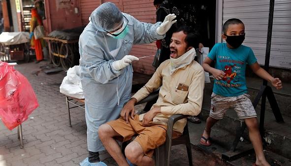 مہاراشٹراور تمل ناڈومیں کوروناوائرس کے 45 فیصد متاثرین