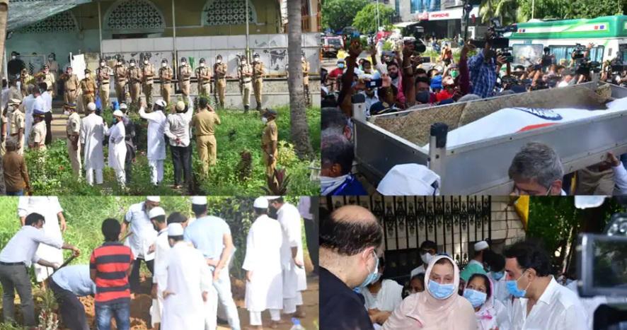 شہنشاہ جذبات دلیپ کمار، سرکاری اعزازکیساتھ ممبئی کے جوہو قبرستان میں سپردِ خاک