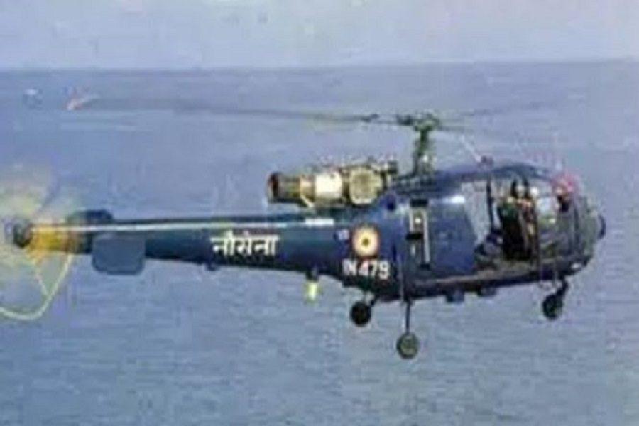 بحریہ کا چیتک ہیلی کاپٹر حادثہ کا شکار، پائلٹ محفوظ