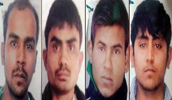 نربھیا کے قصورواروں کے لئے نیا ڈیتھ وارنٹ جاری، تین مارچ کو صبح چھ بجے پھانسی
