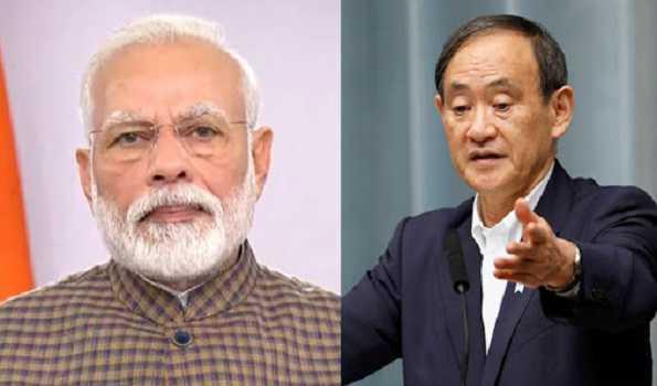 وزیر اعظم مودی کی اپنے جاپانی ہم منصب سے ٹیلیفونک گفت و شنید