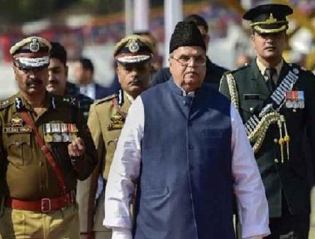 گورنر نے جموں و کشمیر اسمبلی کو تحلیل کیا