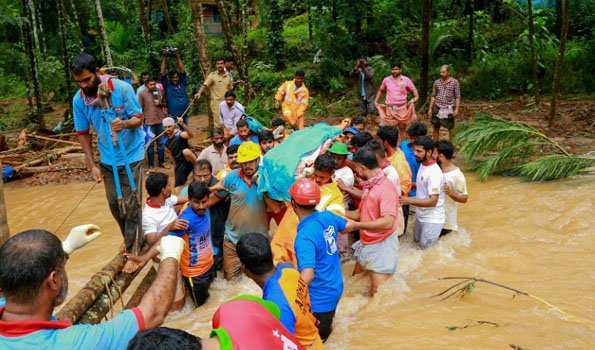 کیرالہ میں سیلاب سے مرنے والوں کی تعداد 113 ہوگئی، 29 افرادہنوز لاپتہ