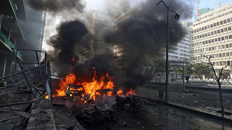 لبنان میں بم دھماکا، سابق وزیر سمیت پانچ ہلاک
