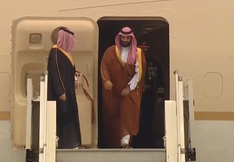 ارجنٹائن پہنچے سعودی ولی عہد ، G-20 سربراہ اجلاس میں کریں گے شرکت