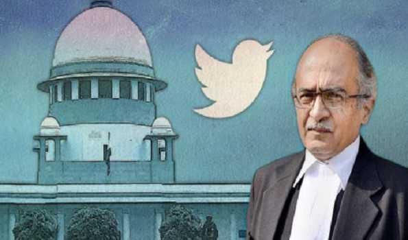 توہین عدالت معاملہ : پرشانت بھوشن قصوروار قرار ، 20 اگست کو سماعت