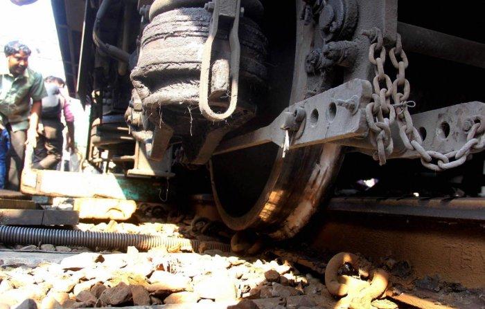 تمل ناڈو میں پٹری سے اتری ٹرین، ایک کی موت