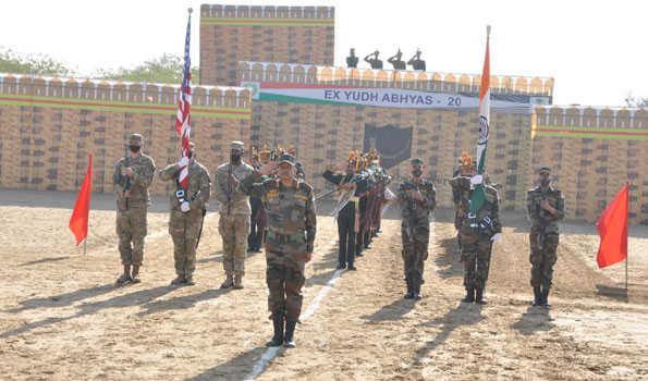 ہندوستان اور امریکہ کی فوجوں کے درمیان مشترکہ مشقیں