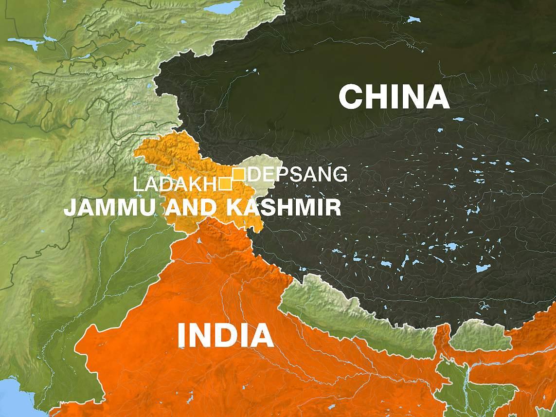 چین نےسرحدسے 5 ہندوستانیوں کو گرفتار کرلیا