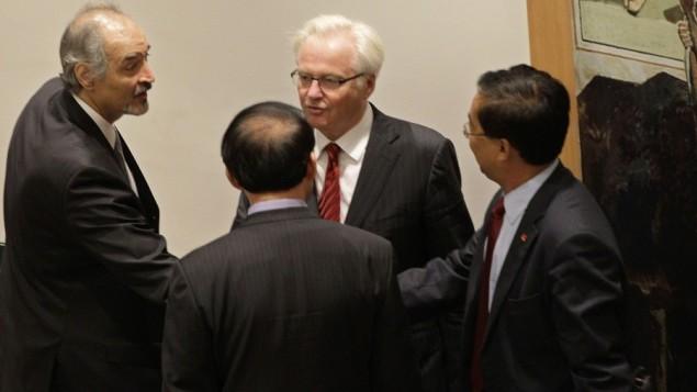 روس اور چین شام سے متعلق قرار داد رکوانے میں کامیاب