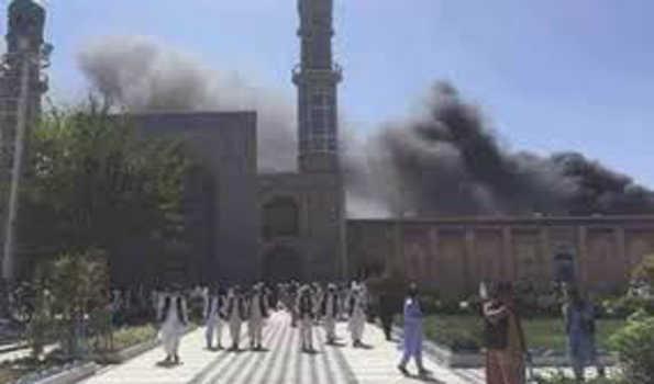 افغانستان میں مسجد میں ہوئے دھماکے سے ہلاکتوں کی تعداد 62 ہوئی