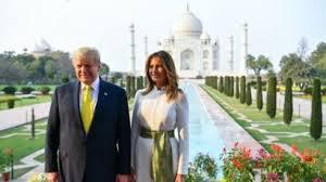 تاج محل ہند کی کوشحال اور متنوع ثقافت کا نمونہ: ٹرمپ