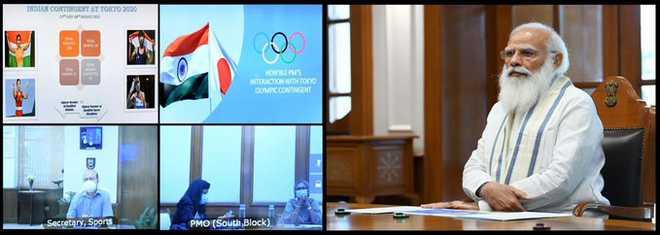 وزیر اعظم نےٹوکیو-2020 میں حصہ لینے والے ہندوستانی دستہ کی تیاریوں کا جائزہ لیا