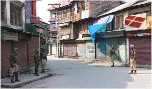کشمیر میں ہڑتال 46 ویں دن میں داخل، معمولات زندگی متاثر