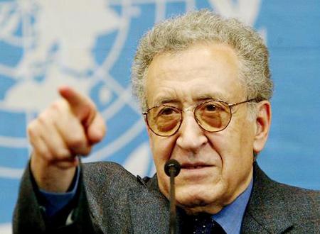 شام میں انتخابات سے امن عمل خطرے میں پڑ جائے گا: الاخضر ابراہیمی