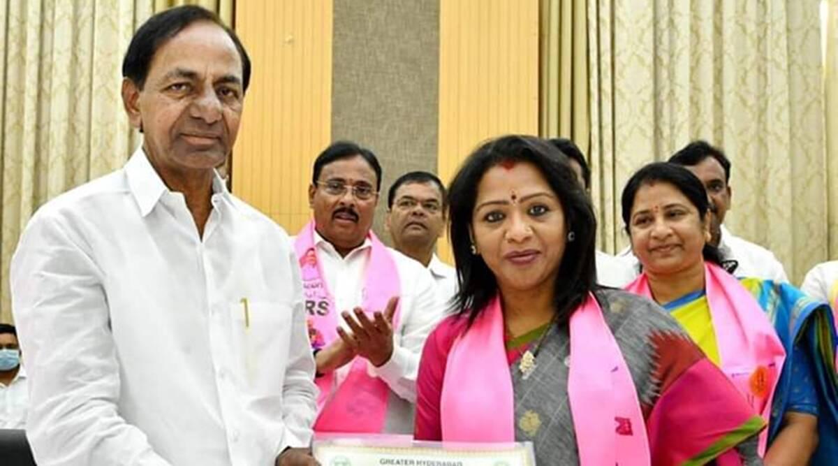 وجئے لکشمی حیدرآباد کی مئیر منتخب۔سری لتا کا ڈپٹی مئیر کے عہدہ کیلئے انتخاب
