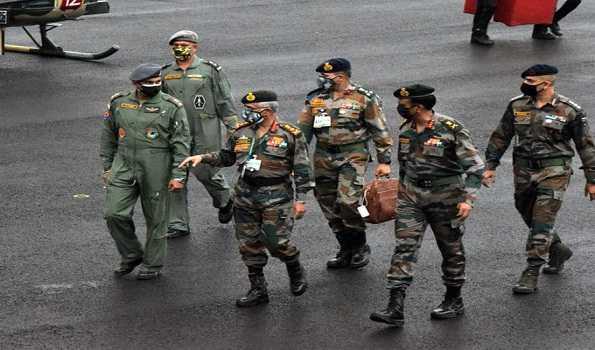 فوجی سربراہ نے شمال مشرق میں فوجی تیاری اور سیکیورٹی کی صورتحال کا جائزہ لیا