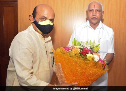 باسوراج بومائی ہونگے کرناٹک کے نئے وزیر اعلی