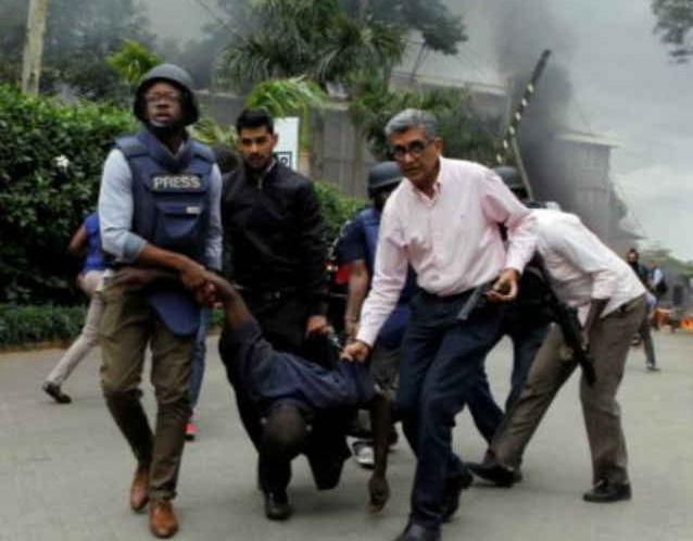 نیروبی میں ہوٹل میں بڑا دہشت گرد حملہ ، 15 لوگوں کی موت