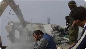 بیت المقدس میں فلسطینیوں کے مکانات کی مسماری کے نوٹس جاری