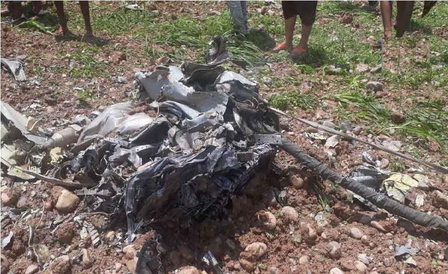 ایئرفورس کا میگ-21 ہماچل پردیش میں حادثے کا شکار،پائلٹ کی موت
