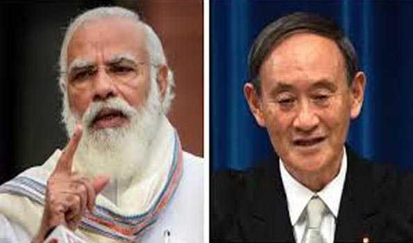 وزیراعظم مودی نے جاپان کے وزیر اعظم سے فون پر بات کی