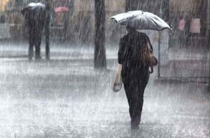 تلنگانہ میں مسلسل بارش کاسلسلہ جاری۔حیدرآباد میں 17.11ملی میٹر بارش ریکارڈ