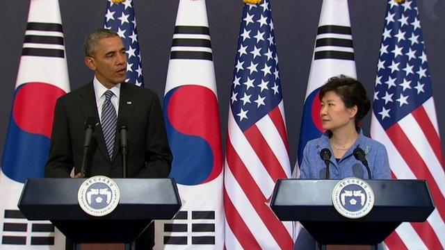 شمالی کوریا نہ صرف ایشیا بلکہ امریکہ کیلئے خطرہ ہے، اوبامہ