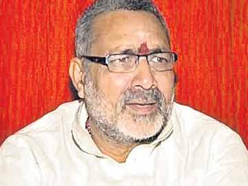 گری راج سنگھ کے مکان پر پولیس کے دھاوے :'بی جے پی قائد گرفتاری سے بچنے کے لئے بھاگ گئے