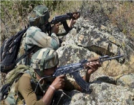 راجوری میں ایل او سی پر پاکستان کی بلا اشتعال گولی باری، فوجی چوکیوں اور رہائشی علاقوں کو نشانہ بنایا